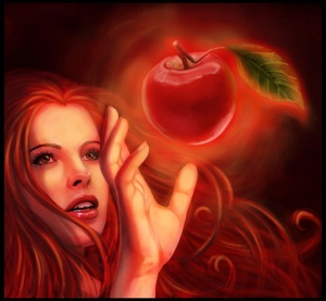 temptation-3-red-apple